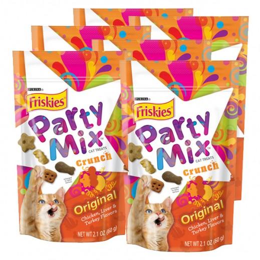 فرسكس – طعام القطط بارتي ميكس أوريجنال 60 جم (5 حبة)