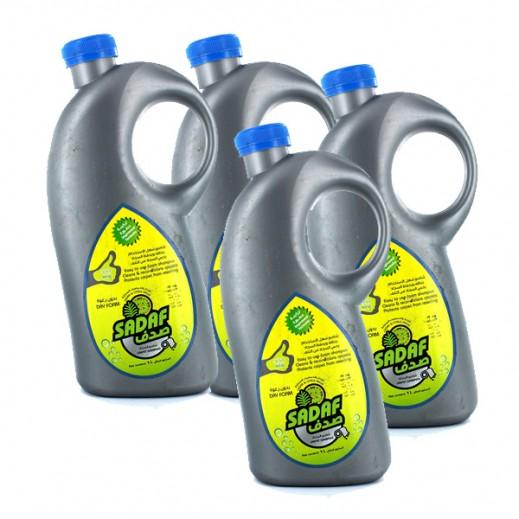 الصانع – شامبو لتنظيف السجاد برائحة السيدار والحمضيات 1 لتر (4 حبة) - عرض التوفير