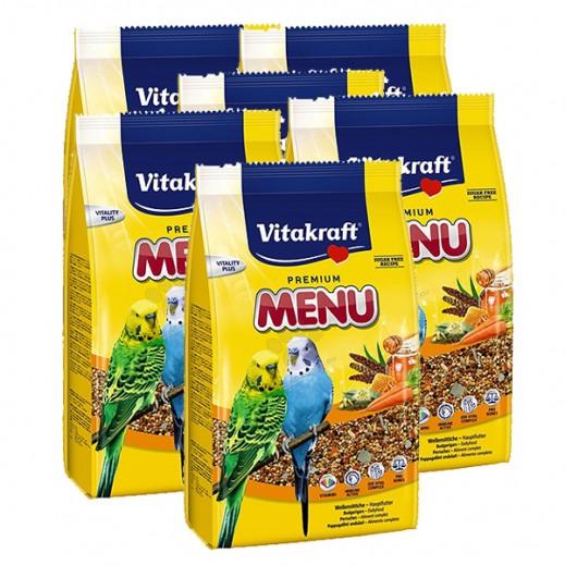 فيتا كرافت – حبوب غذاء (منيو) لطائر البغبغاء 500 جم (6 حبة) - أسعار الجملة