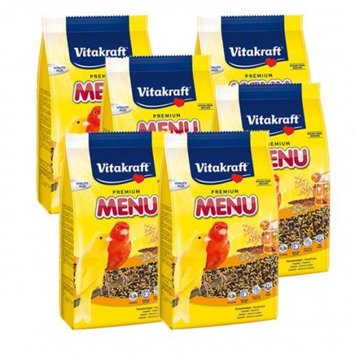 فيتا كرافت – حبوب غذاء (منيو) بنكهة العسل لطائر الكناري 500 جم (6 حبة) - أسعار الجملة