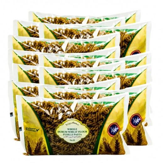 المطاحن – معكرونة بدقيق القمح الكامل رقم 20 400 جم (20 حبة)