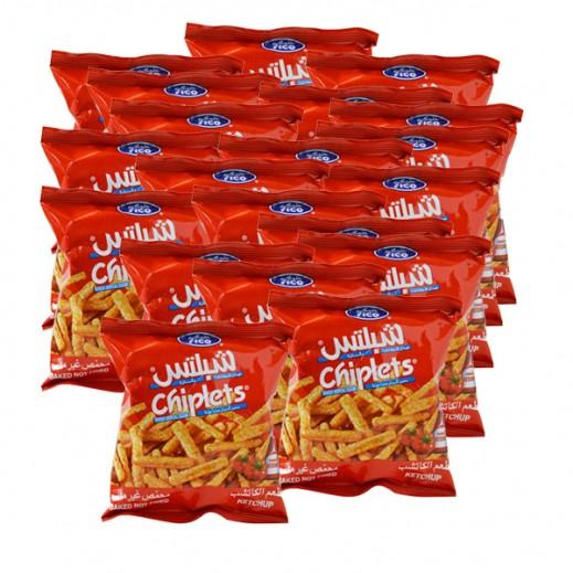 فيكو شبلتس - عيدان البطاطا والذرة بنكهة الكاتشب 100× 15 جم