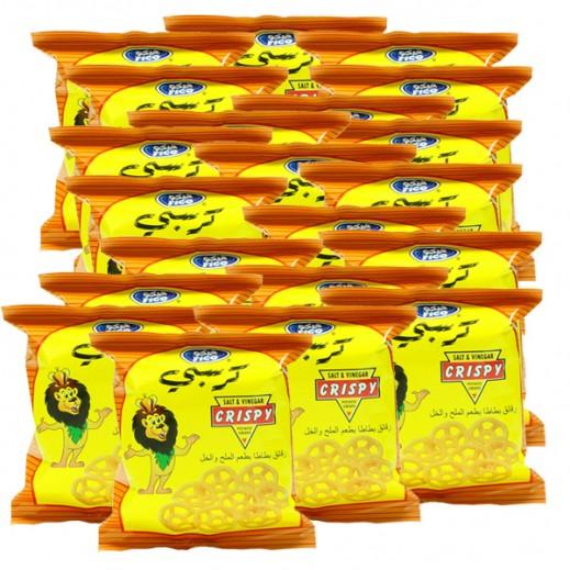 فيكو كرسبي - رقائق البطاطا بطعم الملح والخل 100× 15 جم