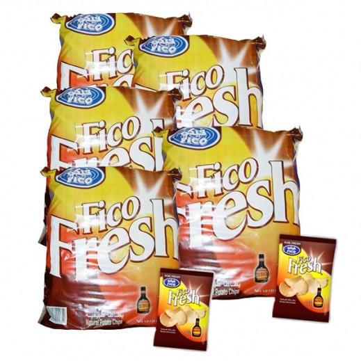 فيكو – بطاطا طبيعية بطعم الباربكيو 16 جم ( 5 × 20 حبة ) - أسعار الجملة