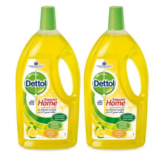 ديتول – مُنظف لجميع الأغراض برائحة الليمون 3 لتر (2 حبة) - عرض التوفير
