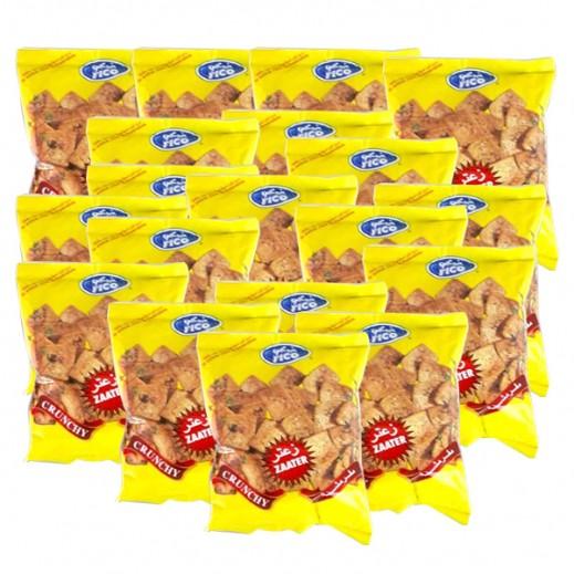 فيكو - بطاطا مقرمشة بنكهة الزعتر 15 جم (20 حبة)