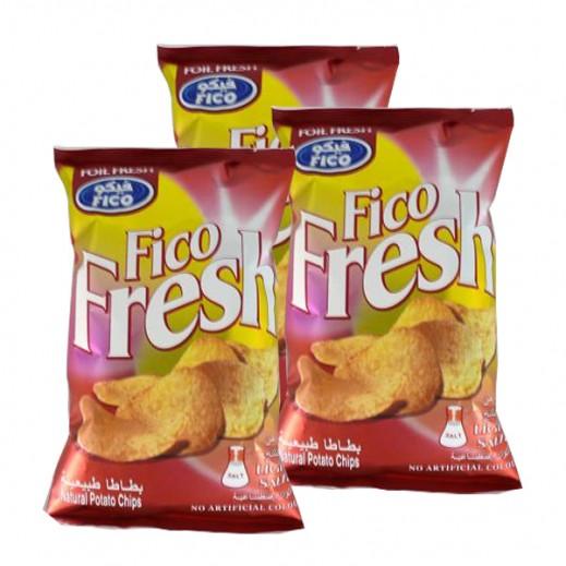 فيكو فريش - قليل الملح 80 جم (3 حبة)