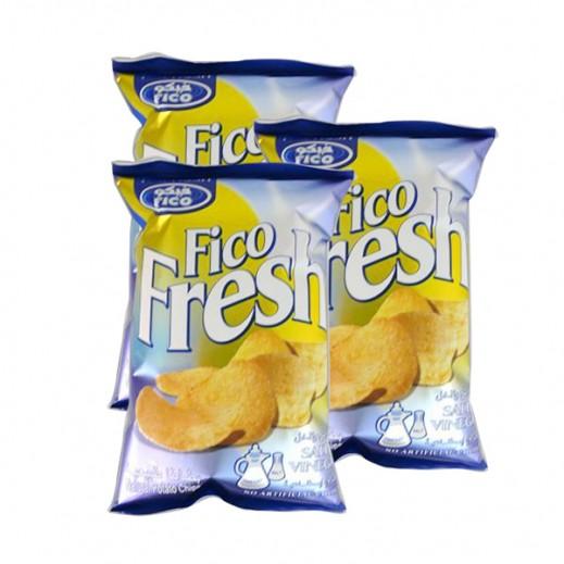 فيكو فريش - طعم الملح والخل 80 جم (3 حبة)