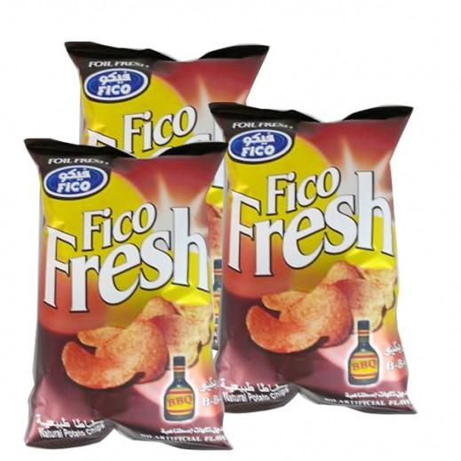 فيكو فريش - بنكهة الباربيكيو 80 جم (3 حبة)