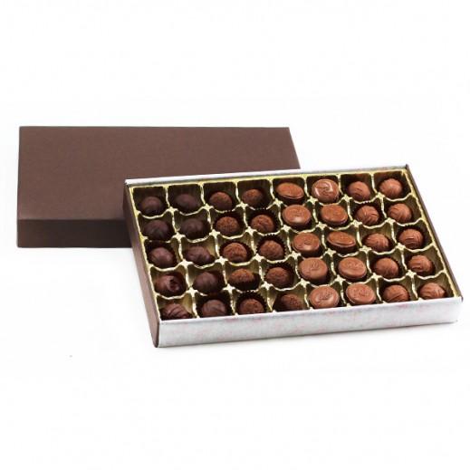 """شوكولاتة رور """"ترفلز"""" - 40 قطعة - يتم التوصيل بواسطة Chocolates Rohr Geneve"""