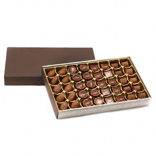 شوكولاتة رور – تشكيلة من أشهر 4 أنواع شوكولاتة - 40 قطعة - يتم التوصيل بواسطة Chocolates Rohr Geneve