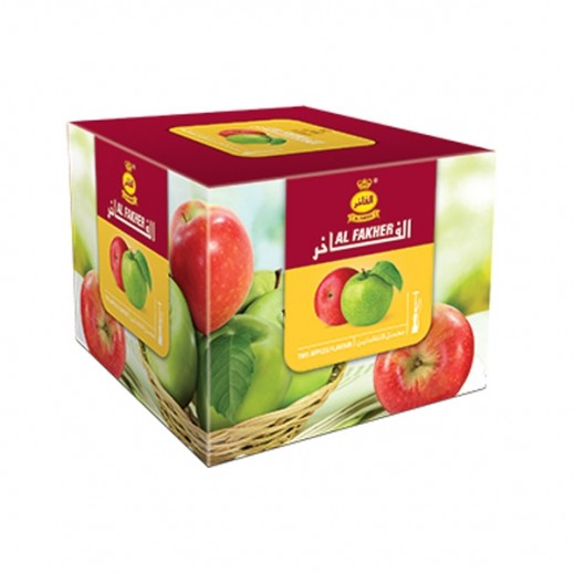 اشتري الفاخر معسل بنكهة التفاحتين 250 جم توصيل Taw9eel Com