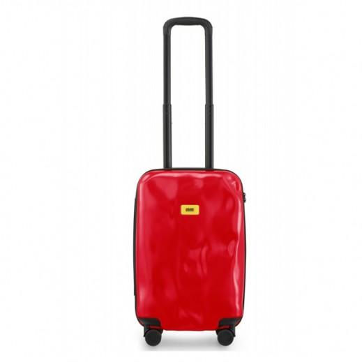 كراش باجيدج – حقيبة سفر سبينر لون أحمر – حجم صغير (55 × 36 × 20 سم)