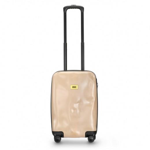 (كراش باجيدج – حقيبة سفر سبينر لون وردي – حجم صغير (55 × 36 × 20 سم