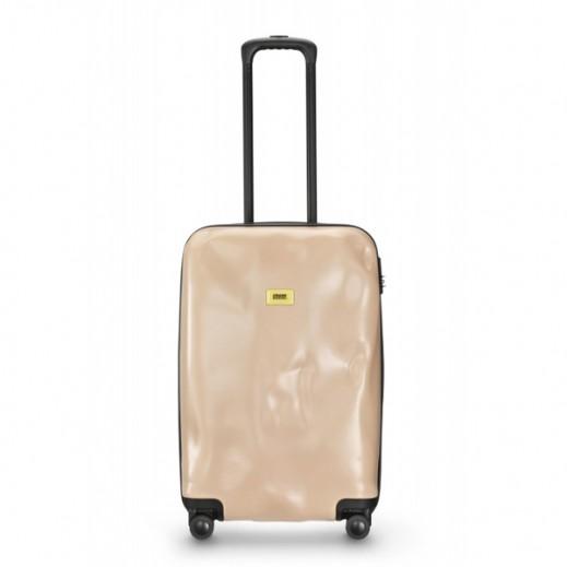 كراش باجيدج – حقيبة سفر سبينر لون وردي – حجم متوسط (66 × 43 × 26 سم)