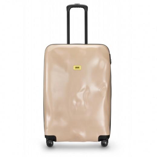 كراش باجيدج – حقيبة سفر سبينر لون وردي – حجم كبير (77 × 50 × 30 سم)