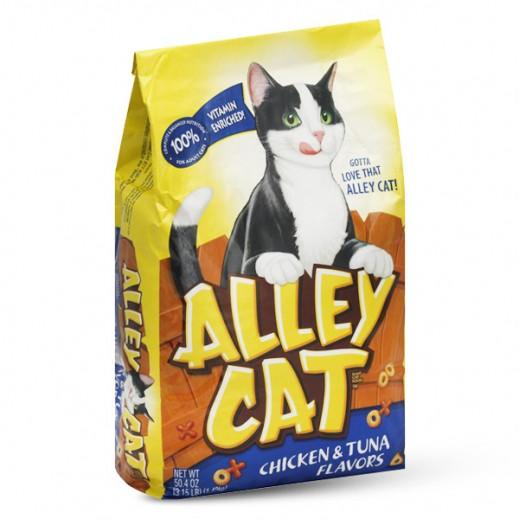 أوليه – طعام القطط بالدواجن والتونة 2.860 كج
