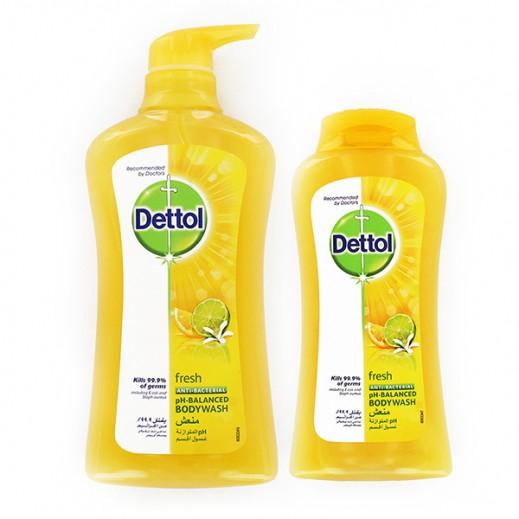 ديتول – غسول الجسم المنعش للحماية من الجراثيم 500 مل + 250 مل مجاناً - عرض خاص