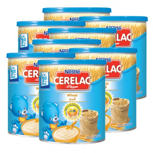 """سيريلاك – طعام الأطفال بالقمح """" المرحلة الأولى  """" 6 حبة × 400 جم – أسعار الجملة"""