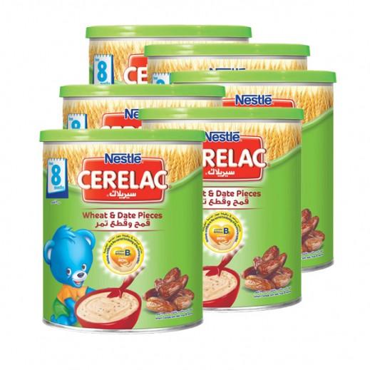 سيريلاك – طعام الأطفال بالقمح وقطع التمر (من عمر 8 أشهر) 6 حبة ×400 جرام - أسعار الجملة