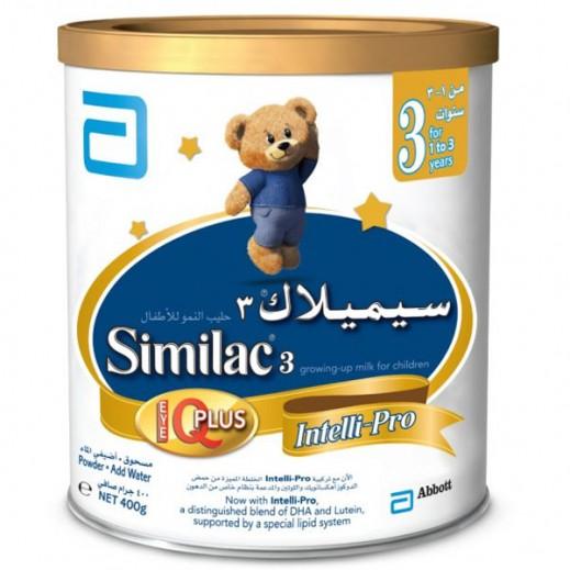 سيميلاك – طعام للأطفال أي كيو بلس 400 جم مرحلة 3 (1- 3 أعوام)