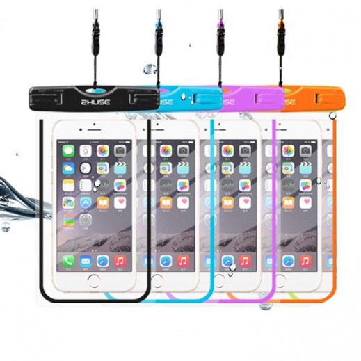 زوشي – غطاء مقاوم للماء قياس 6 إنش لهواتف أي فون والأندرويد