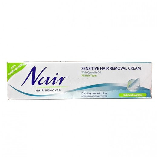نير – كريم لإزالة الشعر للبشرة الحساسة  بعطر خفيف 110 مل