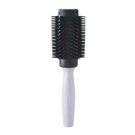 تانجل تيزر – فرشاة شعر دائرية كبيرة تصميم رائع - أبيض
