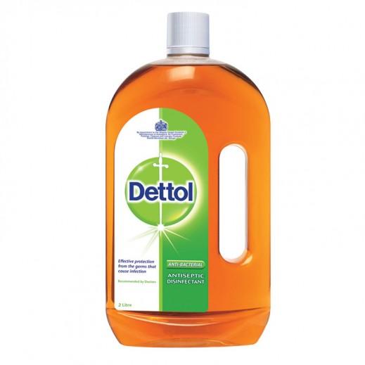 ديتول – مطهر سائل مضاد للبكتريا لجميع الأغراض 2 لتر