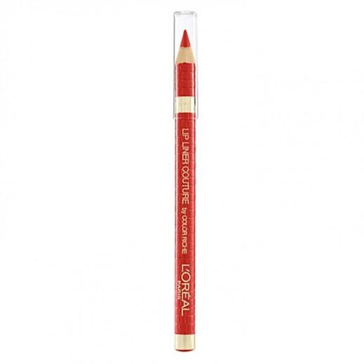 """لوريال باريس – قلم تحديد الشفاة """"Color Riche"""" - لون وردي متوهج 285"""