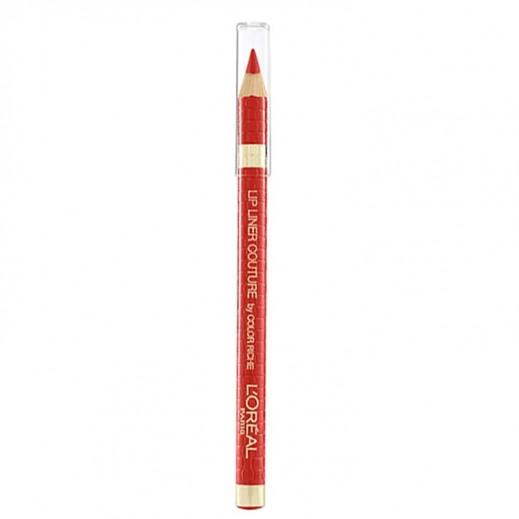 """لوريال باريس – قلم تحديد الشفاة """"Color Riche"""" - لون أحمر مثالي 377"""