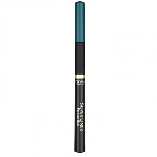 """لوريال – قلم تحديد العيون """"Super Liner"""" – أخضر 01"""