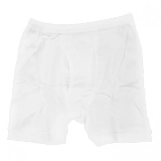 تراي – سروال داخلي نصف للأولاد لون أبيض (1- 2 سنوات) إلى (5 - 6 سنوات)