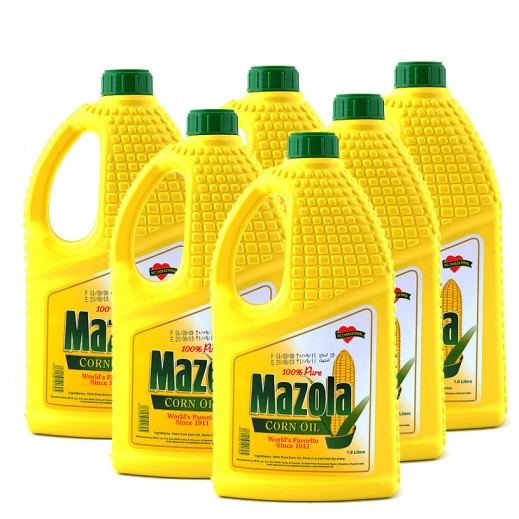 مازولا - زيت الذرة الصافي 1.8 لتر × 6 حبة - أسعار الجملة
