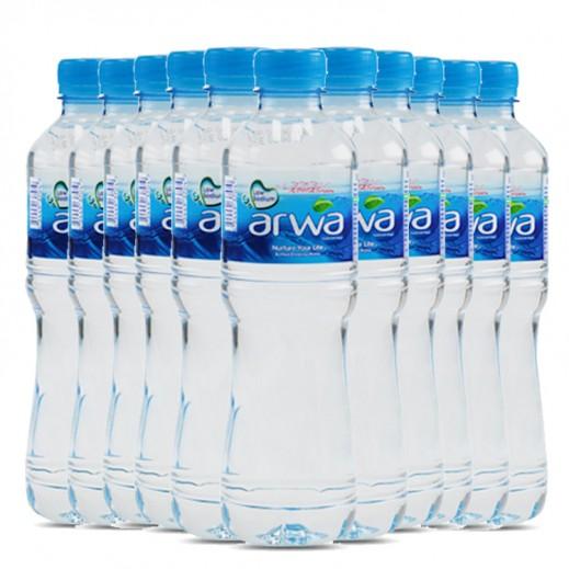 أروى – مياه شرب نقية 500 مل ( 10 كرتون × 24 حبة ) – أسعار الجملة