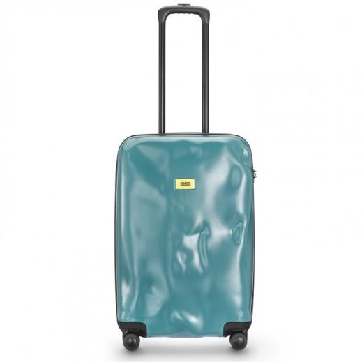كراش باجيدج – حقيبة سفر سبينر لون أزرق – حجم متوسط (66 × 43 × 26 سم)
