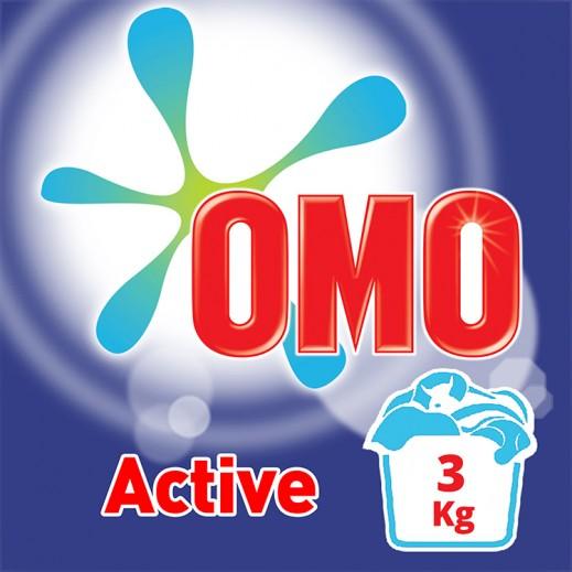 """أومو - مسحوق الغسيل """"""""Auto Fabric للغسالات العادية 3 كجم"""