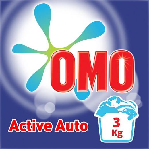 """أومو - مسحوق الغسيل """"""""Auto Fabric للغسالات الأوتوماتيك 3 كجم"""