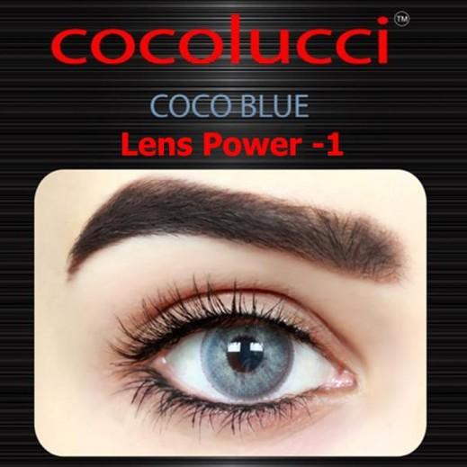 كوكولوتشي – عدسات لاصقة إستخدام شهر (مقاس –1) أزرق