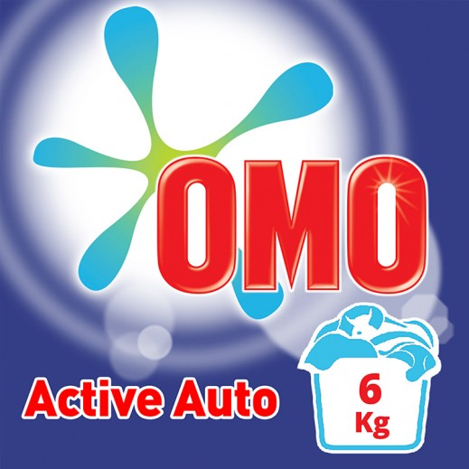 """أومو - مسحوق الغسيل """"""""Auto Fabric للغسالات الأوتوماتيك 6 كجم"""