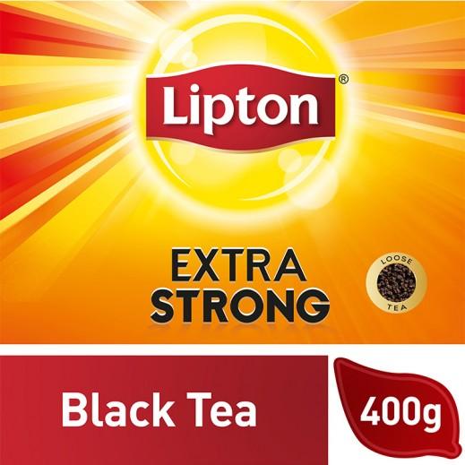 ليبتون – شاي اكتسرا أسود قوي 400 جرام