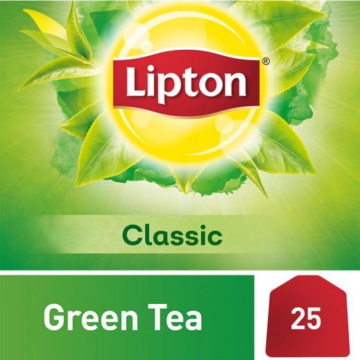 ليبتون - شاي أخضر كلاسيك 25 كيس