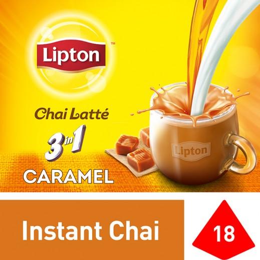 ليبتون – شاي لاتي كراميل 18 كيس