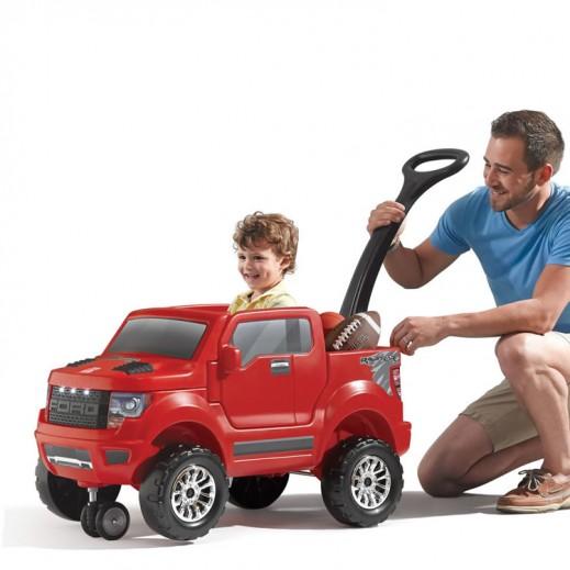 ستيب2 – شاحنة فورد الصغيرة للأطفال - يتم التوصيل بواسطة Shahaleel
