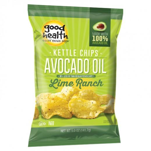 جود هيلث – بطاطا شيبس عضوية كيتل زيت أفوكادو بنكهة الليمون 141.7 جم