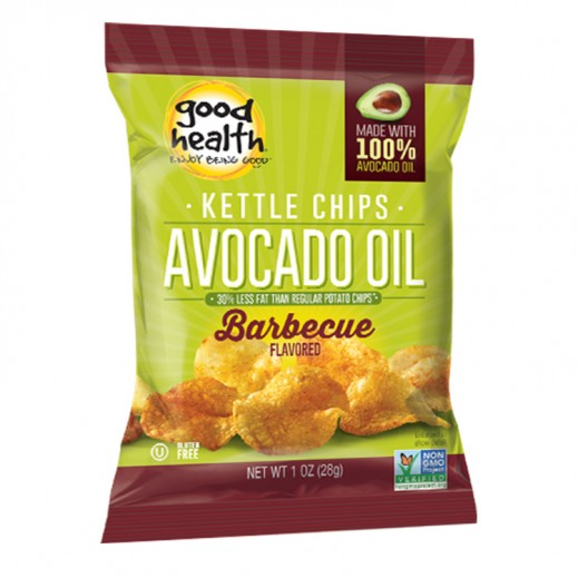 جود هيلث – بطاطا شيبس عضوية كيتل زيت أفوكادو بنكهة الشواء 141 جم