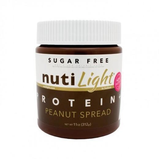 نوتيلايت – كريمة قابلة للدهن بالبروتين والفول السوداني (خالية من السكر) 312 جم