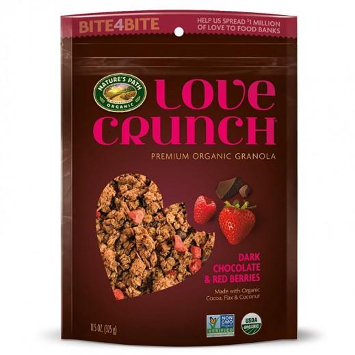 ناتشرز باث – حبوب الإفطارالعضوية بالشوكولاتة والتوت الأحمر 325 جم
