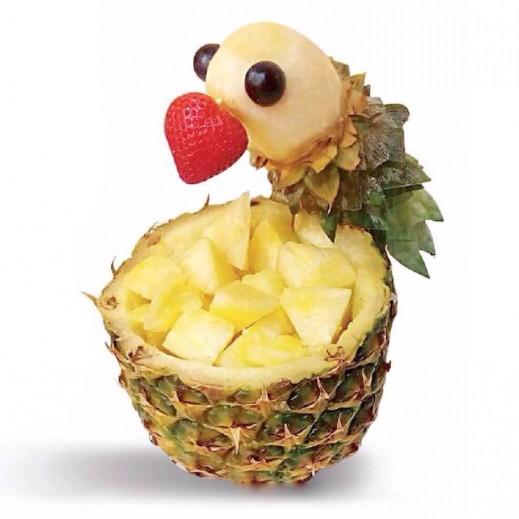 طيور الأناناس - يتم التوصيل بواسطة Fruit Art