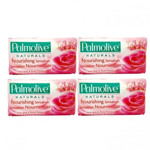 بالموليڤ – صابون بخلاصة بتلات الورد 170 جم (4 حبة)